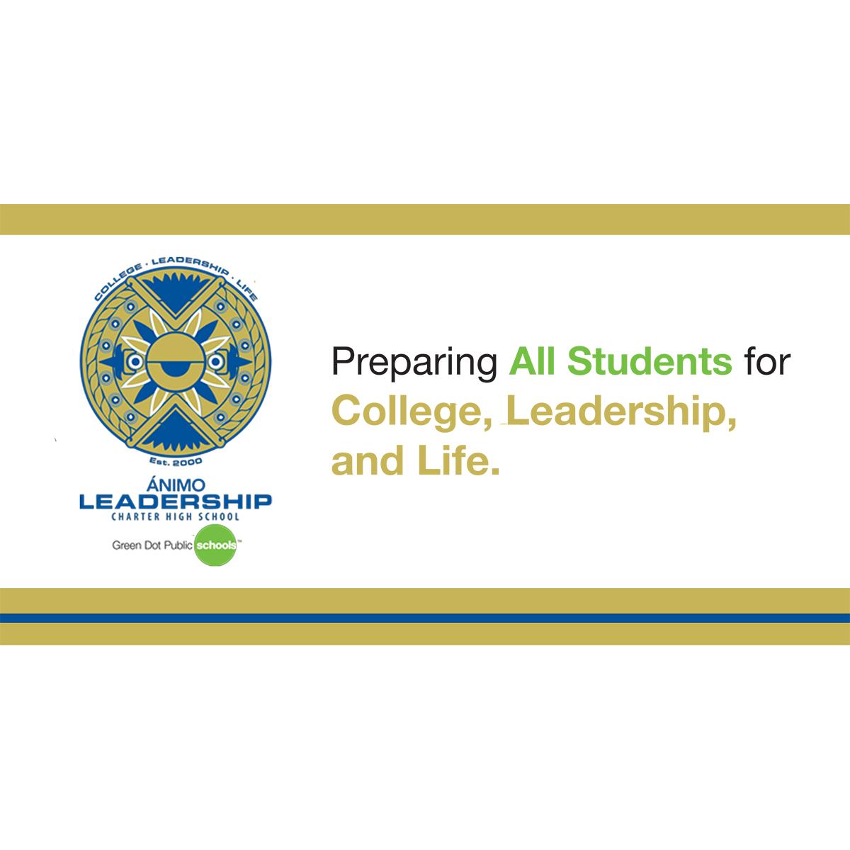 Animo Leadership Banner Advancement